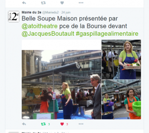 Capture - Twitter Mairie du 2 - 24 juin 2016