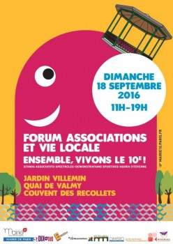 Logo Forum des Associations 2016