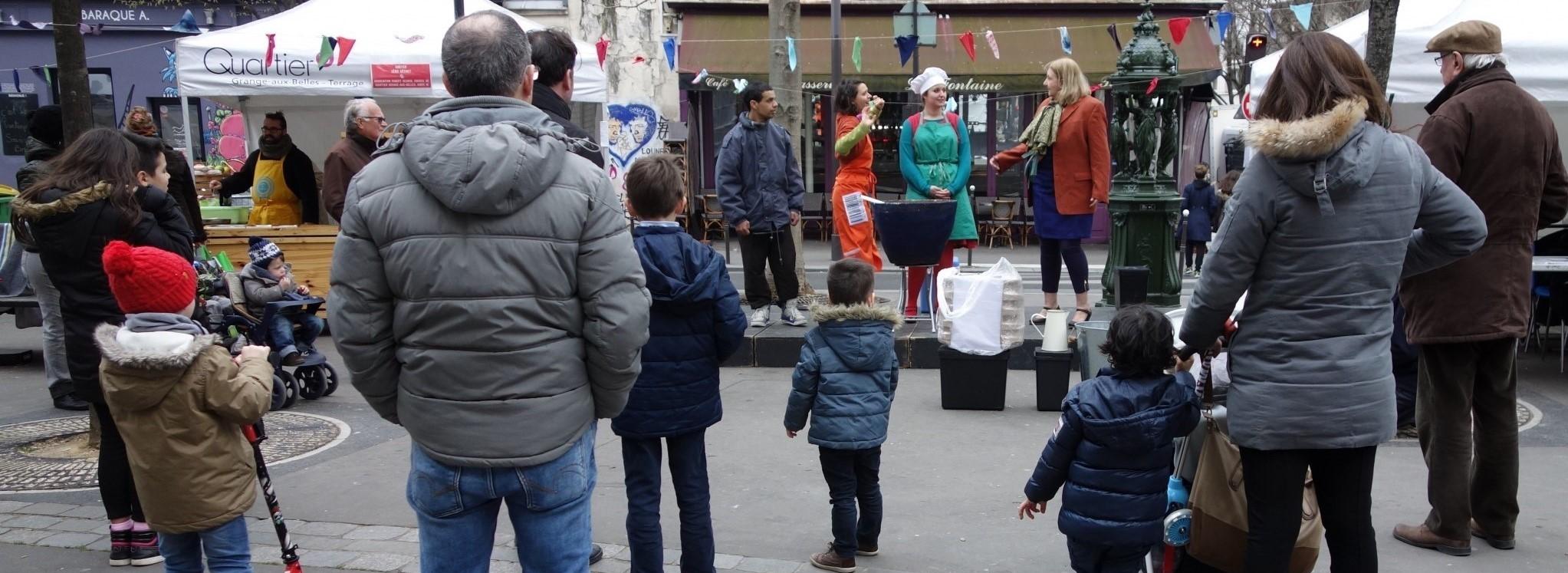 SOUPE MAISON ou l'art d'accommoder les déchets - Place Juliette Dodu - Paris 10 ème