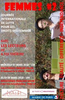 AFFICHE ATT - JOURNEES FEMMES 2018