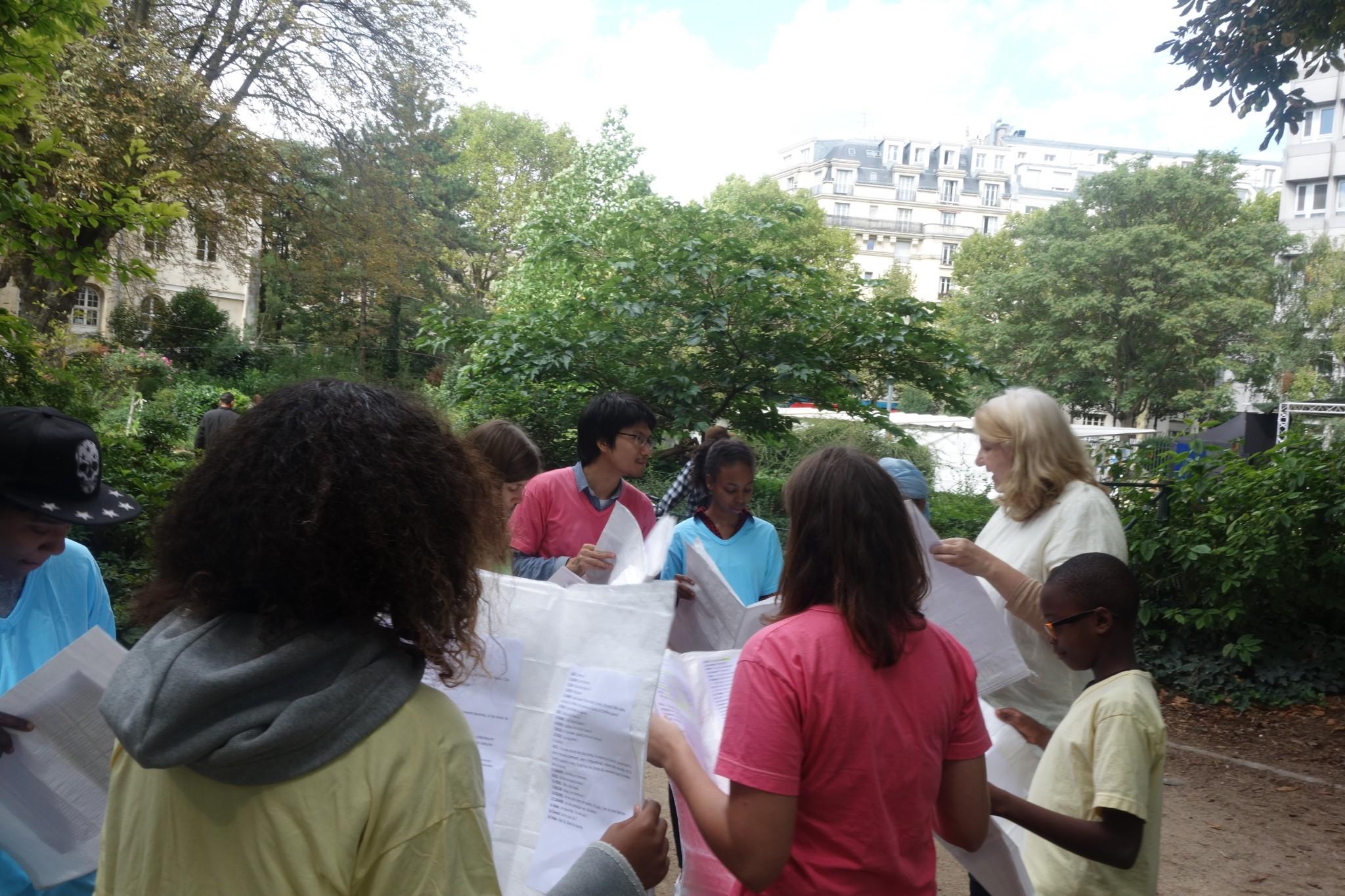 LES LECTEURS S'ENGAGENT - Square Villemin - 10 septembre 2017