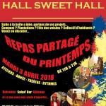 AFFICHE REPAS PARTAGE DU PRINTEMPS - 3 avril 2018