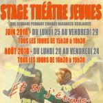 STAGE THEATRE JEUNES - A TOI THEATRE - JUIN AOUT 2018 copie