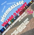 Village 0 dechet affiche