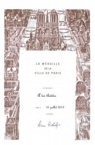 Le Saut des Nautes - Médaille de la Ville de Paris 2019 - juill 19