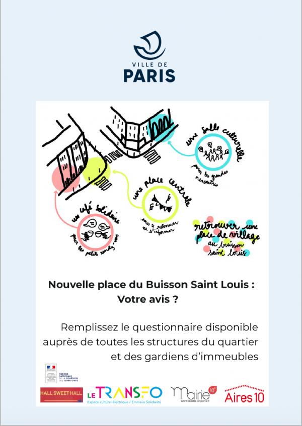 Affiche Nvelle PLace du Buisson St Louis 2021