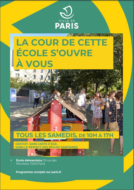 Capture - affiche LA COUR DE CETTE ECOLE S'OUVRE A VOUS - mars2021