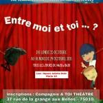 Stage théâtre jeune - octobre 2021 affiche